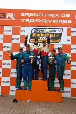 RSR Wins Trois-Rivieres