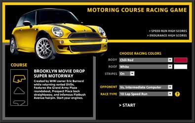 MINI Motoring Course Racing Game