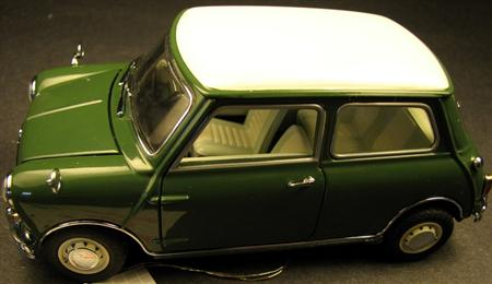 Morris Mini Cooper Franklin Mint Diecast