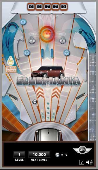 MINI Clubmania Pinball