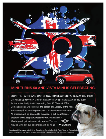 Vista MINI 50th Anniversary Party