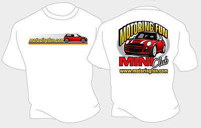 Motoring Fun MINI Club T-shirt