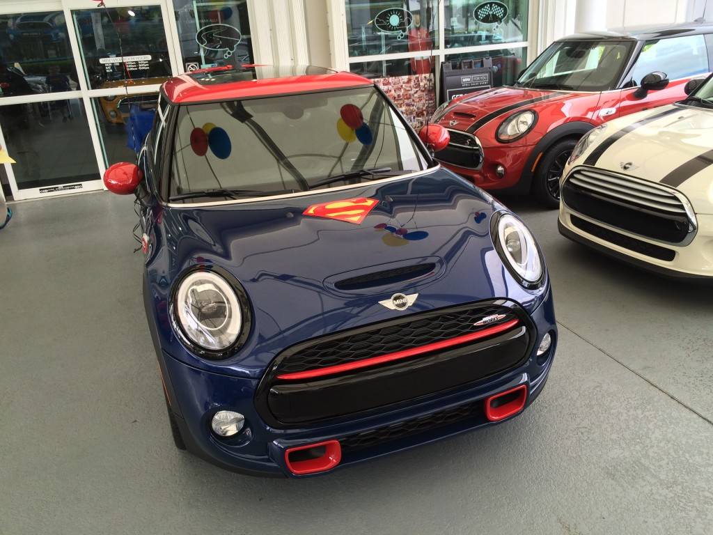 Clark / SuperMINI (the Superman MINI Cooper S)