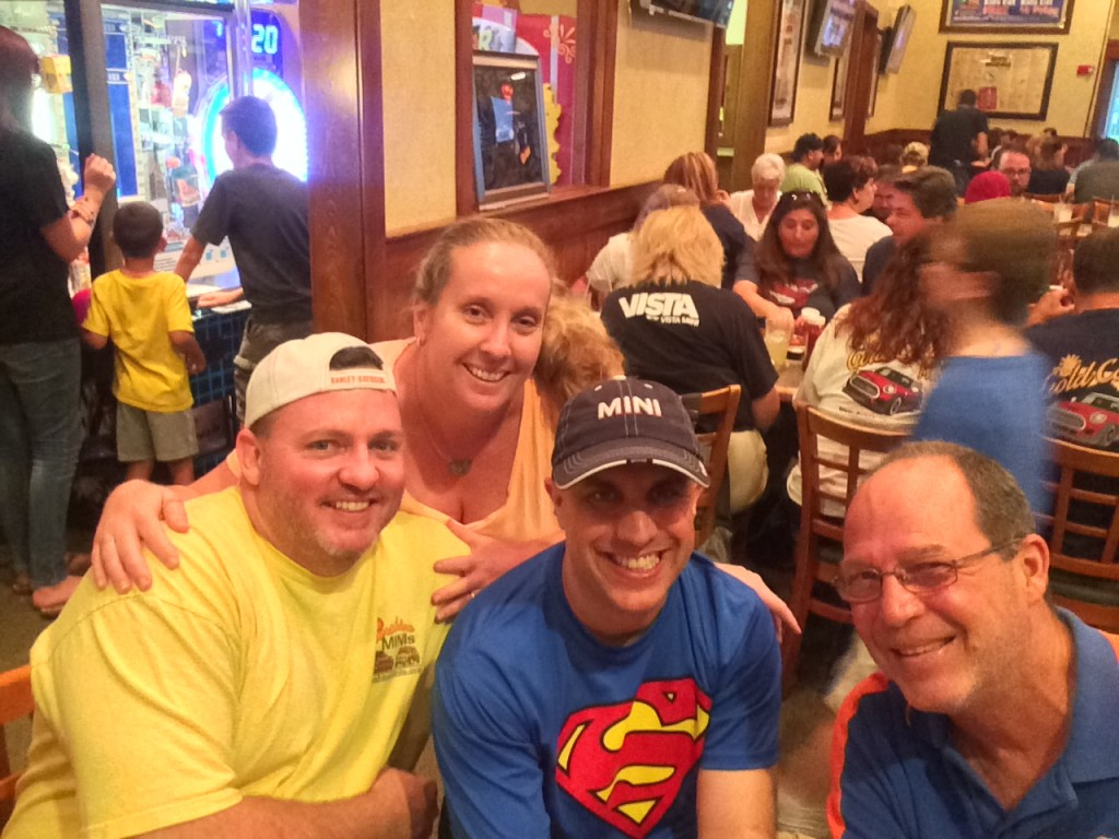 The original Team Minspeed track crew!